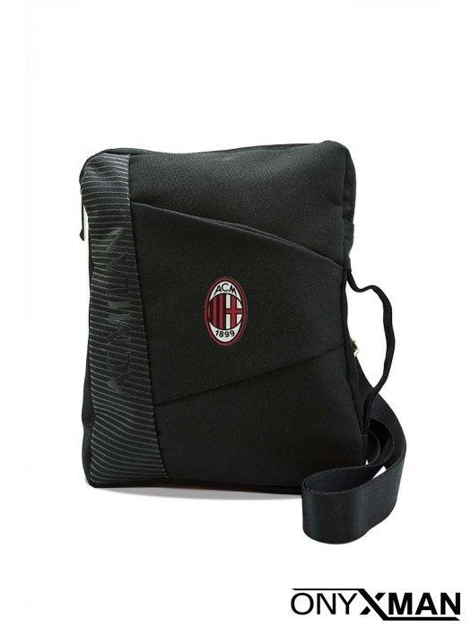 Спортна чанта през рамо с емблема