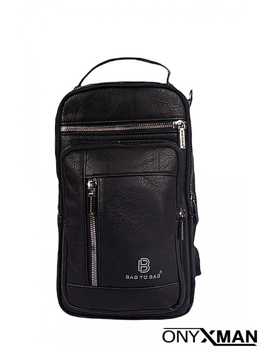 Ежедневна чанта от изкуствена кожа с две дръжки