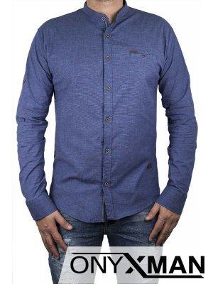 Стилна риза прав модел