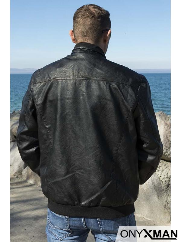 Модерно мъжко спортно елегантно яке