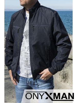 Мъжко пролетно яке в тъмно син цвят