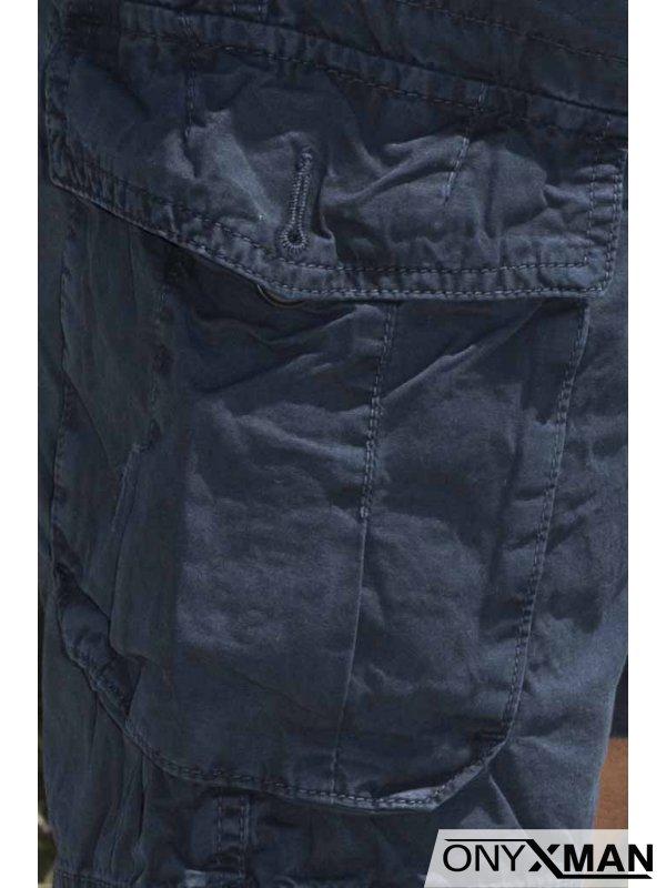 Къси панталони със странични джобове