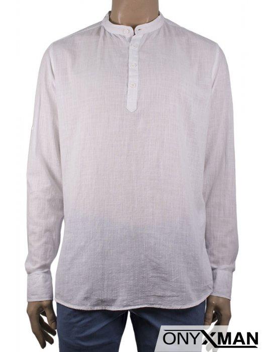 Мъжка риза с къс/дълъг ръкав
