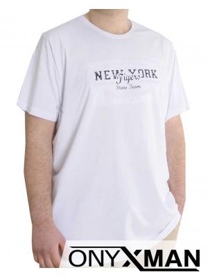 Мъжка тениска с надпис Големи размери