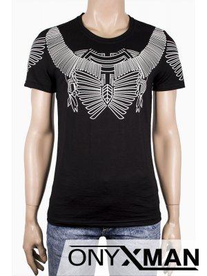 Мъжка тениска с принт Маска