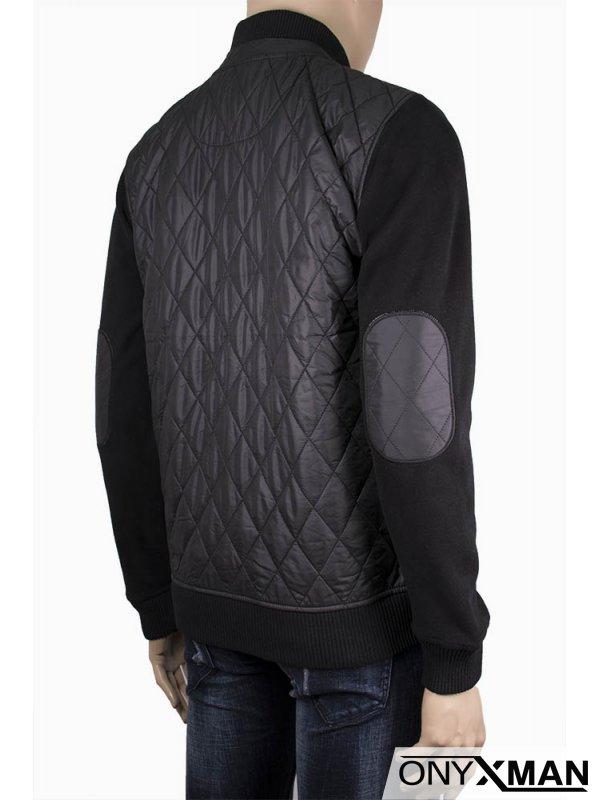 Мъжка плътна горница-яке