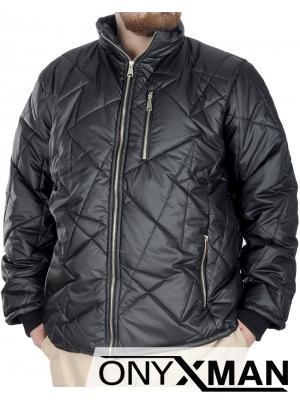 Изчистено мъжко яке (Големи размери)