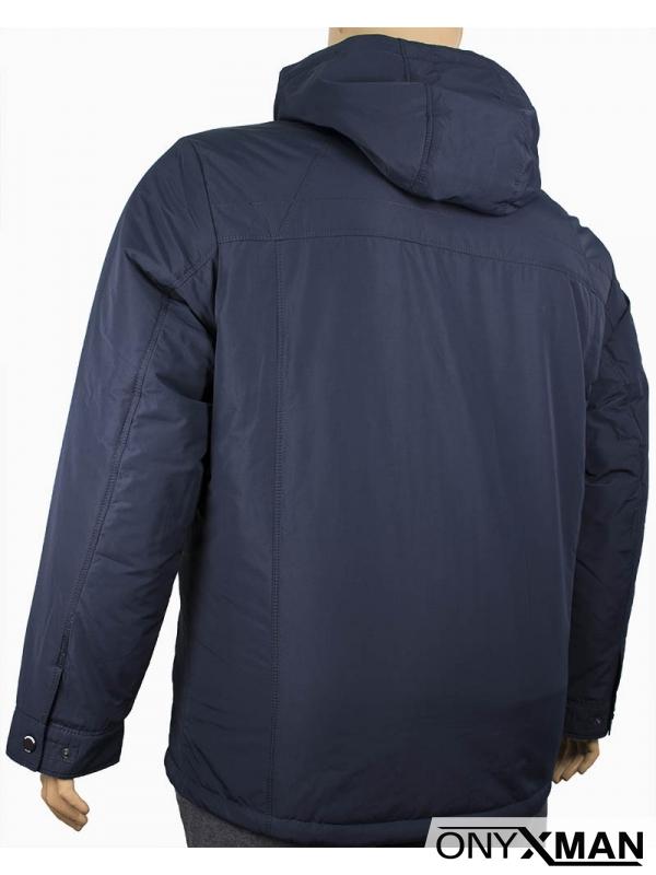 Мъжко яке изчистен модел (Големи размери)