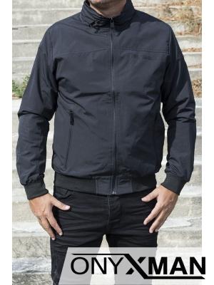 Стилно мъжко яке със скрита качулка