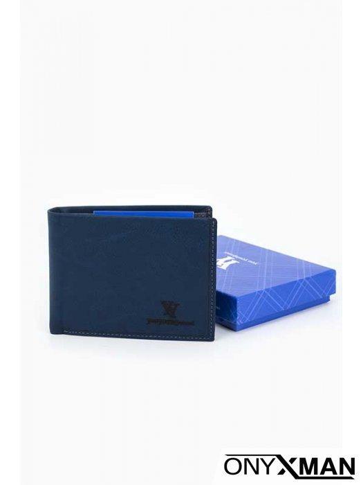 Портфейл в син цвят Coveri