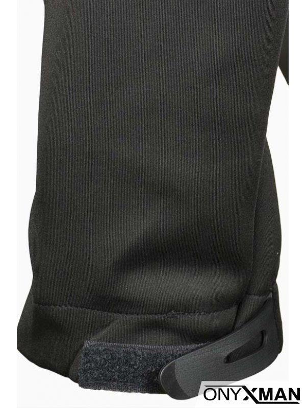 Мъжка горница в сив цвят в комбинация с шушляк