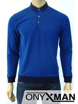 Мъжка блуза с яка