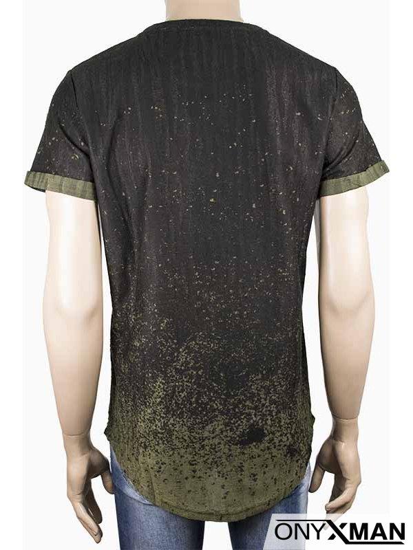 Мъжка зелена тениска Котва