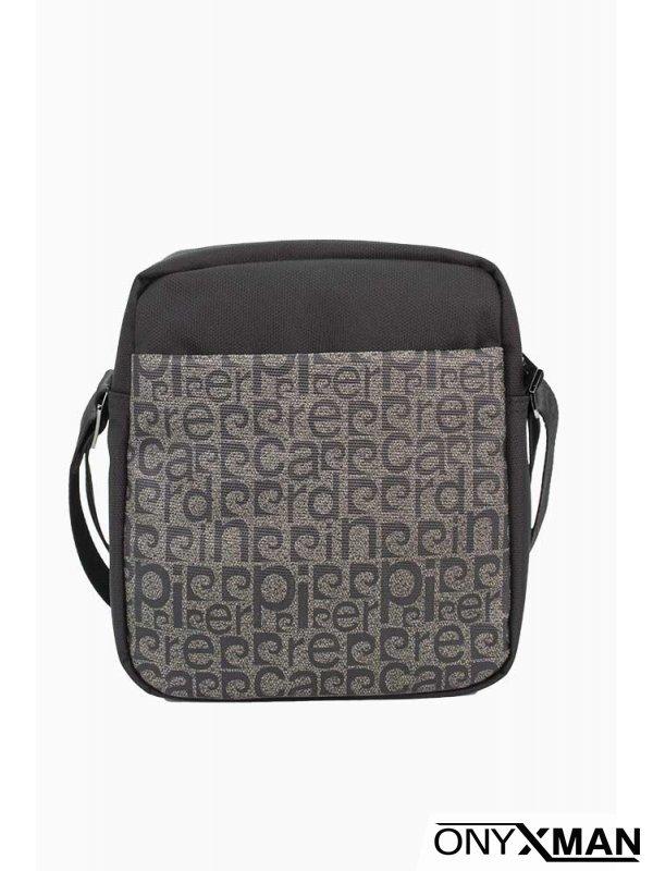 Мъжка чанта от полиестер с много джобове №61373