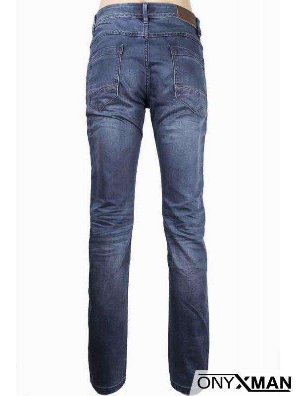 Класически син дънков панталон