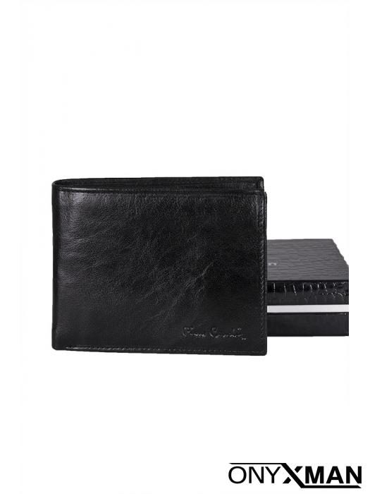 Класически портфейл в черен цвят