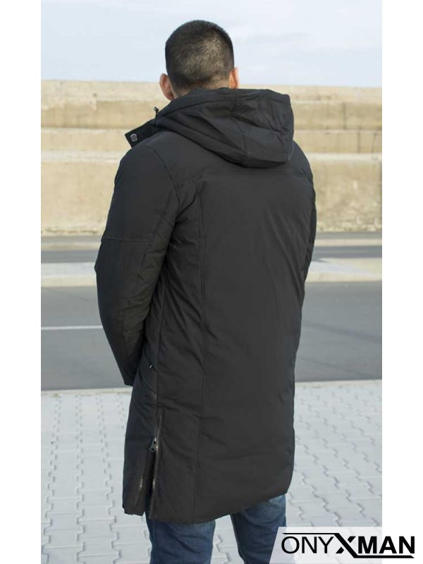 Издължен модел модерно зимно яке