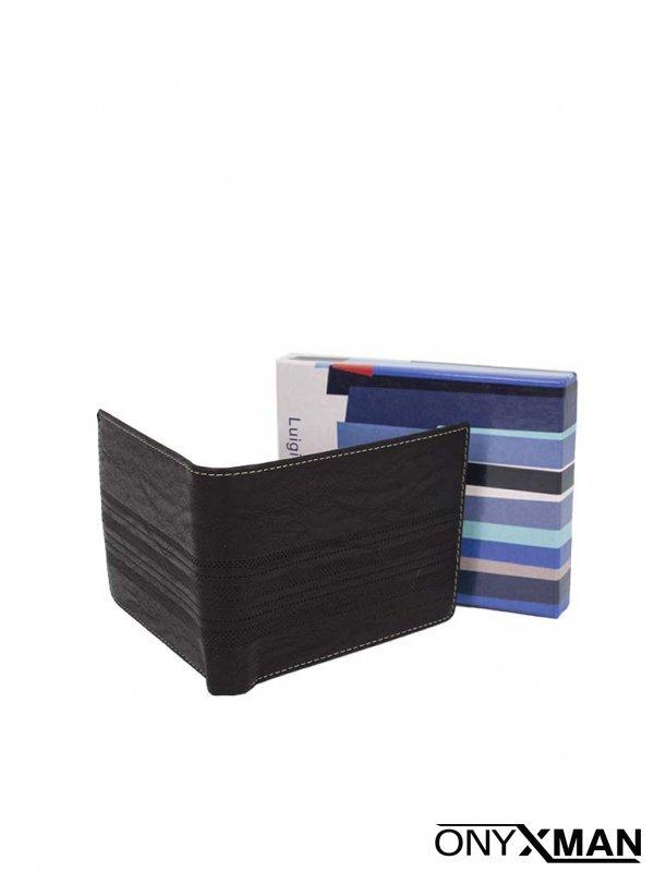 Мъжко портмоне с интересен шев №:1607