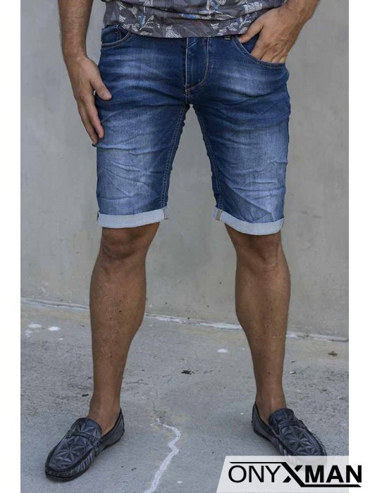Сини дънкови панталони 52032