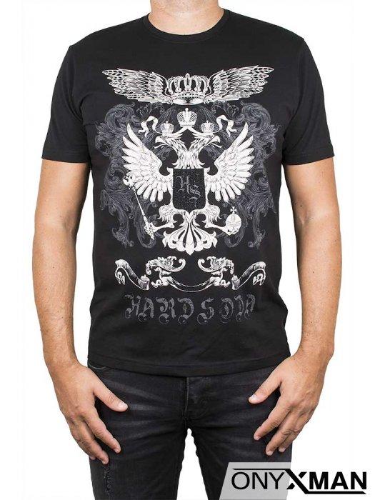 Тениска с корона и крила