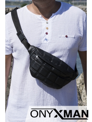 Чанта за кръста от изкуствена кожа