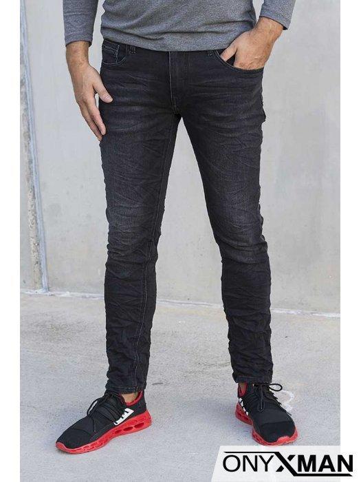 Черни дънкови панталони 51031