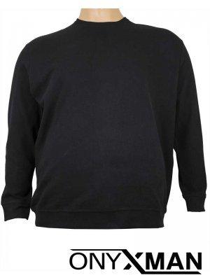 Зимна блуза в черно Големи Размери