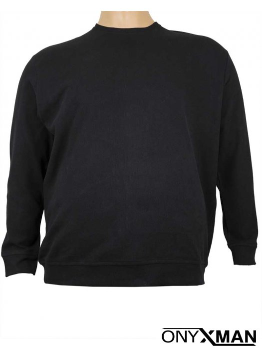 Зимна Макси блуза в черно