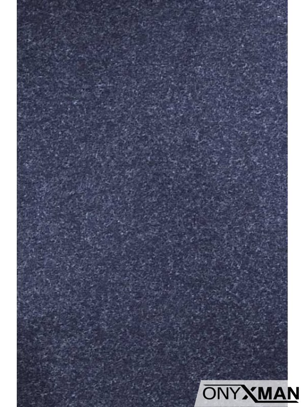 Кашмирена блуза в синьо
