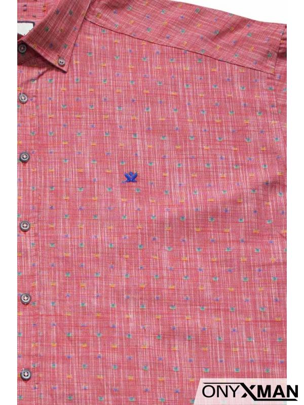Мъжка риза за едра фигура