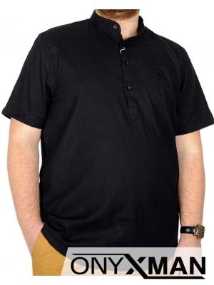 Мъжка риза за едра фигура Големи размери