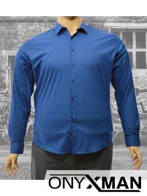 Стилна мъжка риза Големи размери Големи Размери