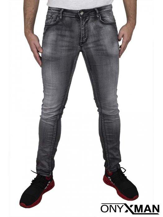 Мъжки сиви дънки 51043