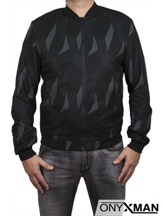 Пролетно яке в черно и сиво