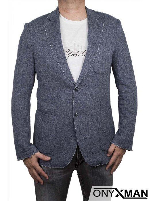 Спортно - елегантно сако в синьо