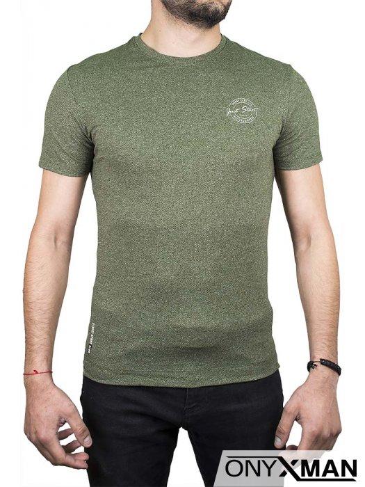 Тениска в зелено Just Start
