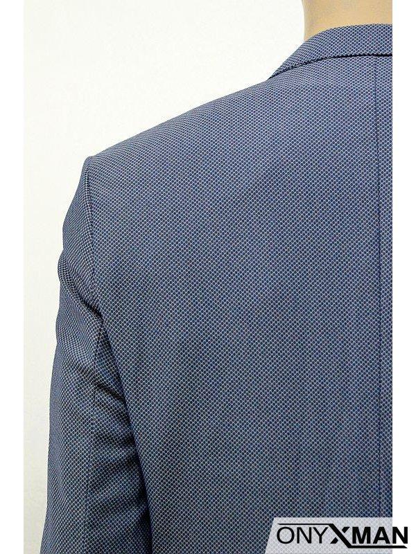 Модерно вталено мъжко сако