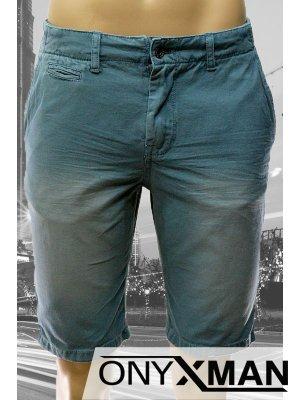 Мъжки къси панталони в синьо