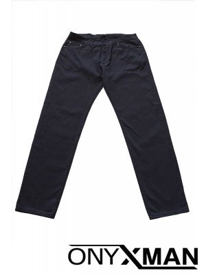 Тъмно син мъжки панталон (ГОЛЕМИ РАЗМЕРИ)