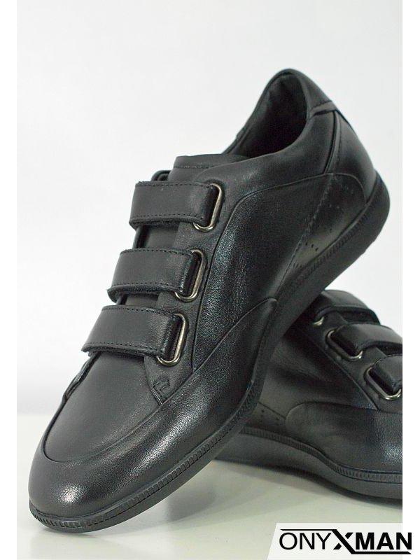 Мъжки обувки с лепки