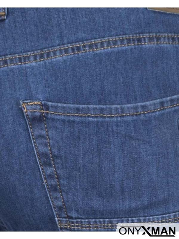 Пролетни светло сини макси дънки
