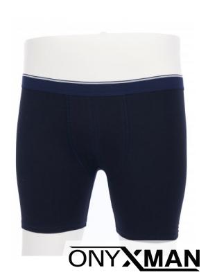Макси боксер в син цвят