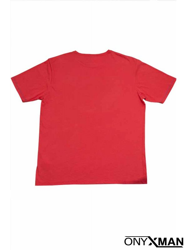 Мъжка тениска с принт