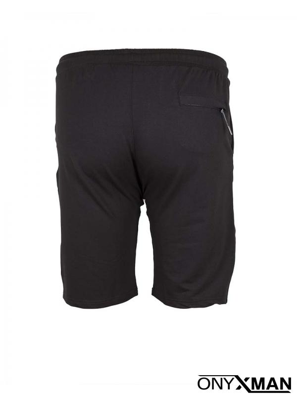 Макси къси черни спортни панталони