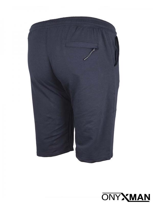 Макси къси сини спортни панталони