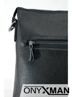 Мъжка чанта от еко кожа