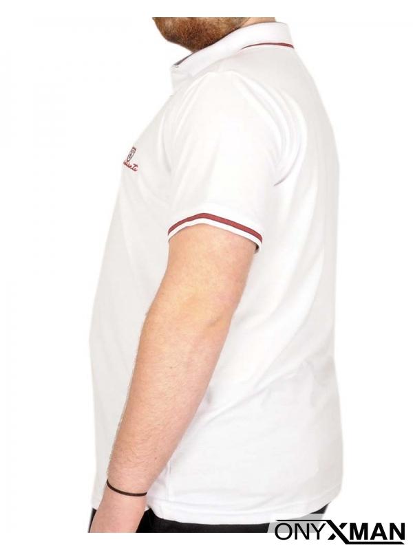 Мъжка тениска с актуален принт