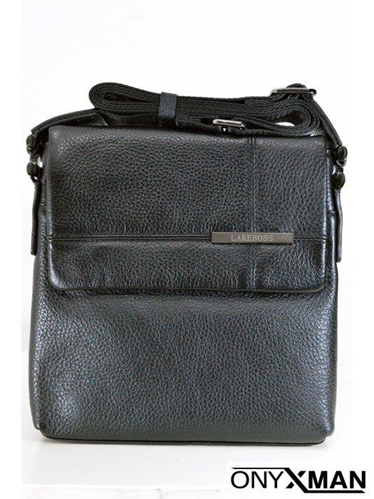 Страхотна мъжка чанта в черно