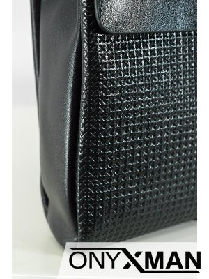 Мъжка чанта от естествена кожа (голям размер)