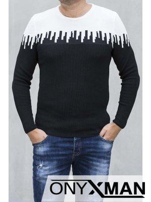 Мъжка спортно-елегантна блуза